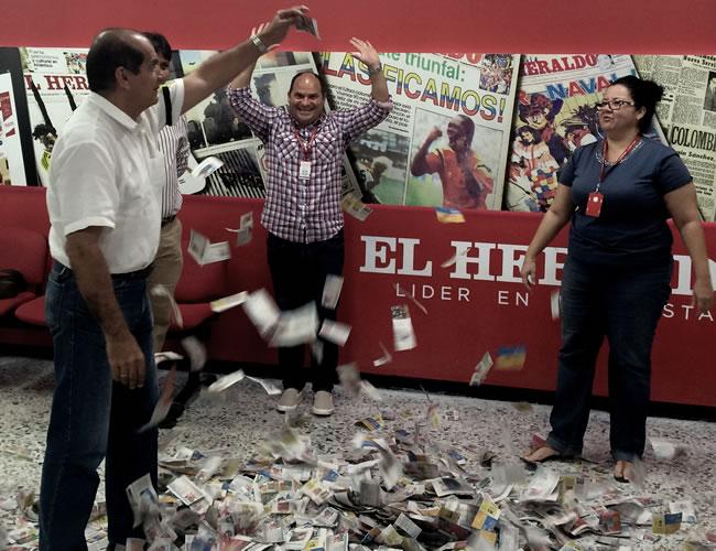 El sorteo se llevó a cabo con la transparencia y seriedad que caracteriza a El Heraldo.