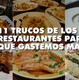 Con el Neuromarketing los restaurantes realizan distintas prácticas para que consumamos lo que ellos desean. | Foto: ALDÍA.CO
