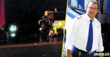 Wilson Antonio Guerra Sánchez conducía el bus 9255 de la empresa Unitransco. Falleció luego de colisionar contra una tractomula, sobre la vía Molineros-Sabanalarga.