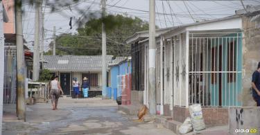 En esta calle del barrio La Chinita ocurrió la balacera entre 'Ricardito' y el 'Venezolano'.