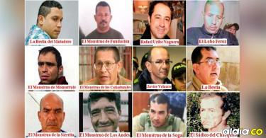 Estos son los 12 asesinos en serie que estremecieron al país. | Archivo
