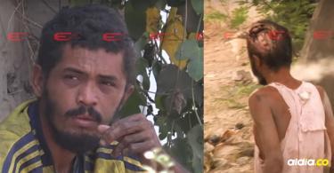 Este es Jonathan Jesús Castro Viloria, el 'Zombie de Primero de Mayo'.