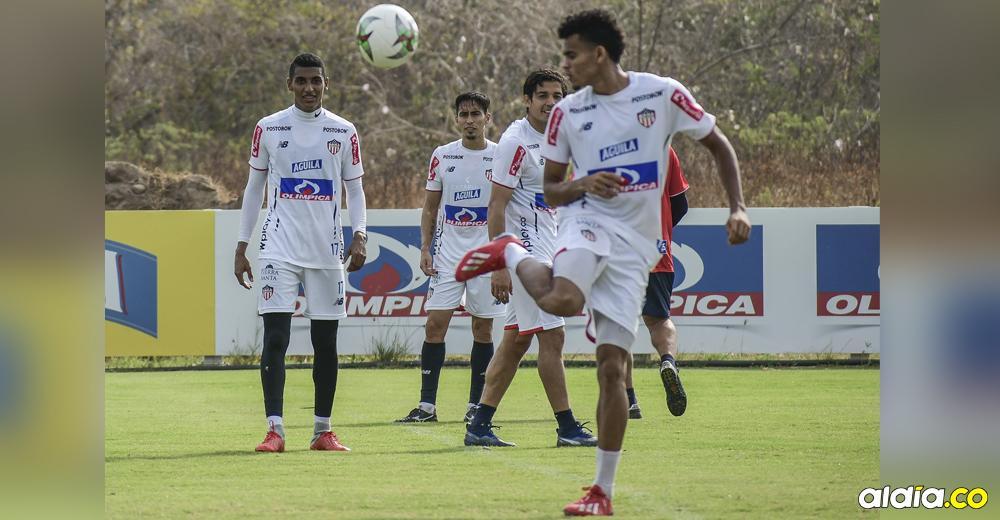 Luis Díaz lidera la ofensiva de Junior, que hoy recibe a Rionegro Águilas por la quinta fecha de la Liga Águila I. El juego se disputará en el Metropolitano Roberto Meléndez. | Jesús Rico