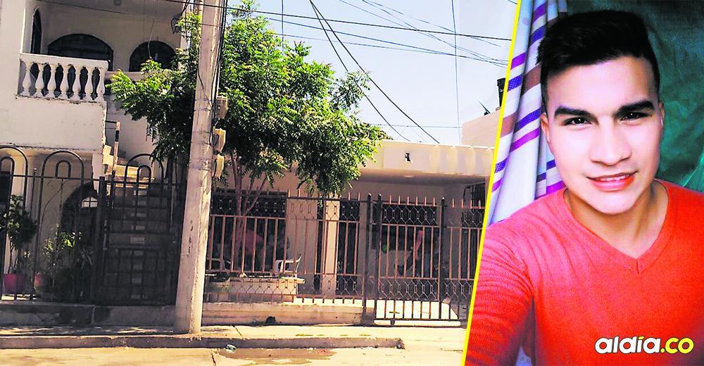 El joven Javier Narváez Ardila, de 24 años, fue aesinado de un disparo en el pecho, por oponerse al robo de su celular.