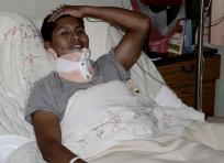 Erwin Timirí fue uno de los seis sobrevivientes al siniestro presentado en Medellín. | Univision