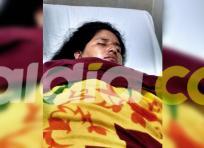 Liliana Díaz Pacheco, ama de casa, permanece un centro asistencial de Ciénaga, Magdalena | Cortesía