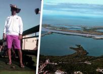 En la Ciénaga de Mallorquín ocurrió el hecho en el que perdió la vida el Caddie de Golf. Hugo Manuel Barrios Loaiza, de 30 años. | Al Día