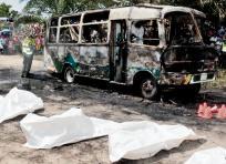 La sentencia de más de 10 años por homicidio culposo en contra de Manuel Ibarra y Jaime Gutiérrez fue proferida por un Juez en Ciénaga, como directos responsables de la tragedia del incendio del bus en Fundación. | AL DÍA