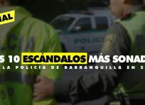 El 2016 no ha sido un buen año para la Policía de Barranquilla, pues e ha visto envuelta en casos de corrupción | ALDÍA.CO