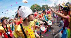 Foto del carnaval del año 2015 tomada por Juan Paez