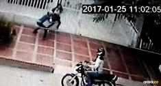 La jóven llegaba a su casa cuando fue sorprendida por los atracadores | Cortesía