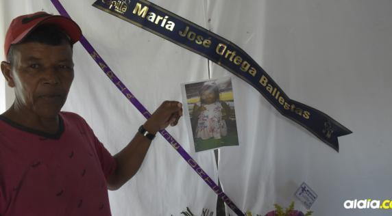 Heriberto Fonseca Mercado el único miembro de la familia paterna de María José que tuvo fuerza para hablar con este medio.