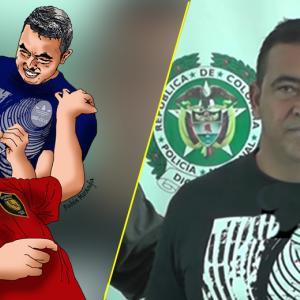 Tomas Manuel Maldonado Cera, alias 'Satánico'.   Foto ilustración