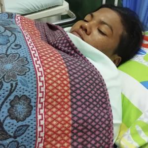 María Isabel Guzmán López, de 25 años, fue herida de una puñalada en medio de una riña en un estanco de La Nevada.