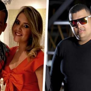 El desacuerdo se dio luego de que Ochoa publicara en sus redes sociales una imagen en la que se ve trabajando en la mezcla del sonido de la nueva producción musical 'Sin Límites'   ALDÍA.CO