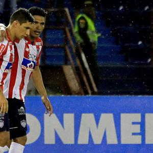 El paraguayo se quejó de inmediato ante el directivo de Junior: Fuad Char | Cortesía