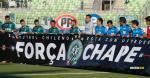 El Santiago Wanderers se disponía a hacer un homenaje a Chapecoense junto al Huachipato, en la fecha 14 de la Primera División chilena | Al Día
