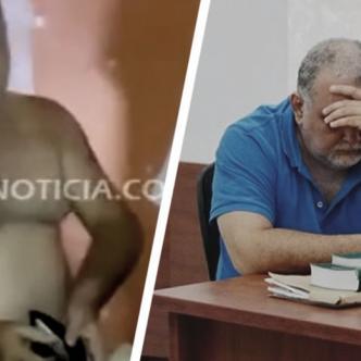 José Rafael Arturo Lozano Villarreal fue sorprendido, desnudo, junto a una niña de 13 años en una habitación del hotel que administraba | Foto: Metronoticia