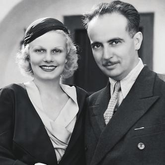 Jean Harlow (izquierda) y Paul Bern (derecha), convivieron 4 años y hoy atemorizan a los visitantes de la mansión   Foto: shutterstock