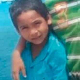 Alberto Cardona Sanguino, de 6 años, está desaparecido desde el 20 de septiembre, cuando asesinaron a su papá.