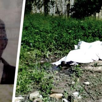 El cuerpo del infortunado anciano quedó tendido en medio del patio de la tienda, donde seguramente fue atacado por los asesinos