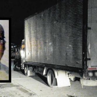 Óscar Enrique Núñez Ortega, de 50 años, chocó con un furgón cuando conducía su moto sobre la carrera 27 con calle 81, barrio Me Quejo, y perdió la vida. | ALDIA
