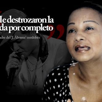"""""""Si Álvaro tenía problemas o amenazas de seguro me lo hubiese dicho, por eso digo que lo mataron por envidia"""", dice Silvia María Soto.   Dario Dague / AL DíA"""