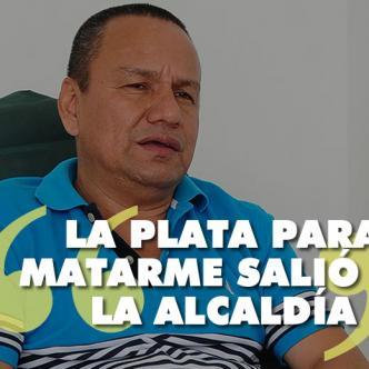 Villanueva asegura que teme por su vida. Cuenta con un esquema de seguridad compuesto por tres hombres y un vehículo blindado   Foto: Johnny Olivares