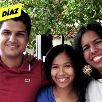 Elder Dayan Rodríguez, Sielva María Salcedo y María Alexandra Niño, hoy pueden tener el apellido Díaz.   El Heraldo