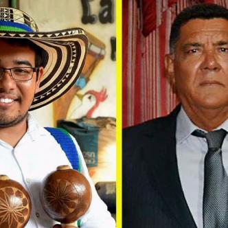 Danny Zora a la derecha. Eduardo Guerrero a la izquierda   AL DÍA.CO