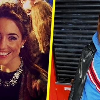 Jake y Emmy (izquierda) y la novia actual de Jake (derecha)   Tomada de: Instagram.