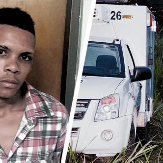Brayan Granados Bossio, de 18 años. El CTI realizó la inspección técnica del cadáver y lo trasladó a Medicina Legal. | AL DÍA