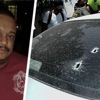 José Francisco Muñoz Gómez quedó dentro del vehículo con la pistola en el pecho   Al Día