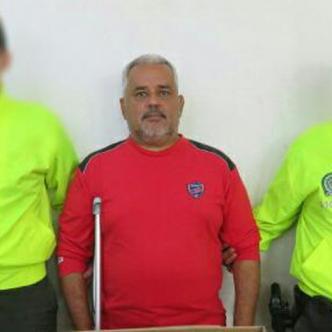 El estudiante de la Universidad del Atlántico, Osvaldo Meriño Torres, detenido por las autoridades policiales.
