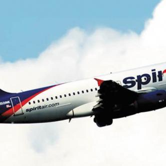 La tripulación de la aeronave de la aerolínea Spirit activó la alerta roja.
