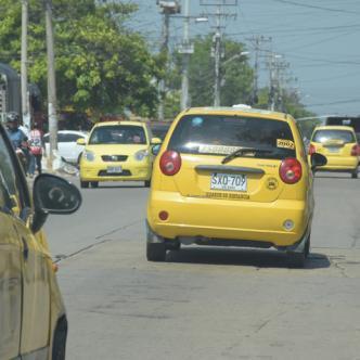 Los atracos a taxistas se incrementan en el segundo semestre del año.