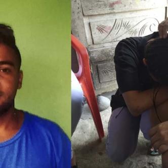 Jean Carlos Del Valle Zambrano, 24 años, asesinado con arma blanca en la riña.