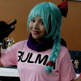 Una cospley como Bulma, el famoso personaje de la serie Dragon Ball | Al Día