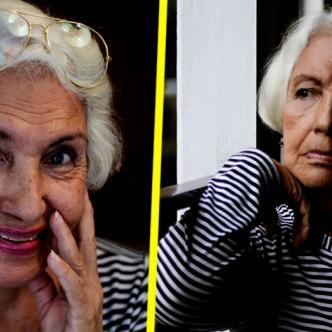 Dalia, la abuela del joven   Twitter de Bryan Barradas