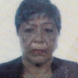 Zeneida Pereira de Fontalvo, víctima de bala perdida.