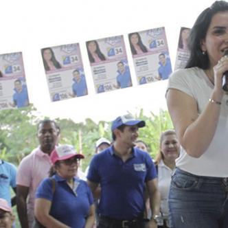 Aida Merlano alcanzó una curul en el Senado de la República, pero en estos momentos está presa.   Al Día