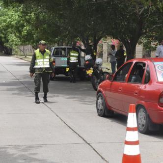 Las autoridades han reforzado las labores de control para garantizar la seguridad en el departamento del Cesar. | Cortesía