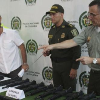 Las autoridades estuvieron en la jugada en el tema de incautación de armamento.