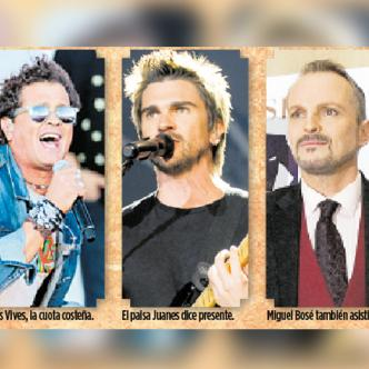 Estos son algunos de los artistas que han confirmado su asistencia para el concierto en la frontera colombo venezolana. | Archivo