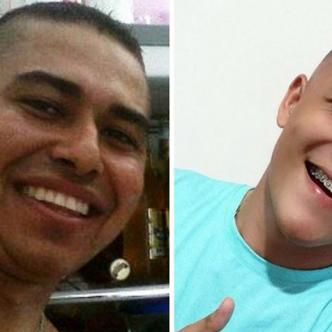Wilmar Darío Sinning Arias, de 37 años, y Anderson Toncel Berrío, de 19 años.