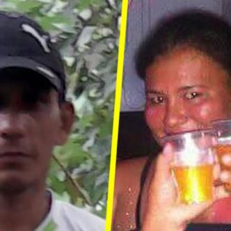 Francisco Benavides, agresor y Luz Estela Revuelta Beleño, de 36 años,víctima.