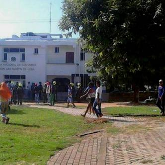 Miembros de la Policía se desplazaron hasta el sitio de los hechos para adelantar las diligencias de levantamiento | Al Día