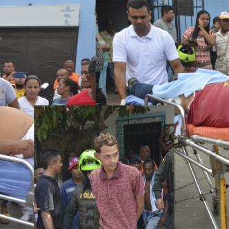 José Antonio Gutiérrez Castro y Kennelty Antonio González Villa fueron heridos. Foto José Puente Sobrino