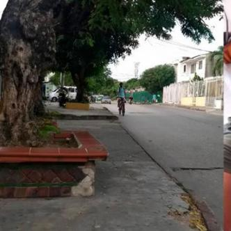Esquina de la calle 68 con carrera 26C donde ocurrieron los hechos. | Al Día