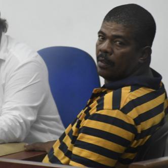 Gimmy Chapman, señalado por la Fiscalía de ser el preseunto determinador del asesinato de la niña María José Ortega Ballestas.